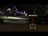 Kernkraft 400 on a Musical Tesla Coil