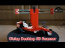 Ciclop Desktop 3D Laser Scanner Complete Review