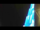 световое шоу на barj Khalife в Дубаи