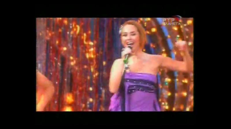 Жанна Фриске - Ла-ла-ла (Большая новогодняя дискотека (эфир после голубого огонька 2006)