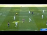 Как развивалась первая голевая атака Барселоны в Эль-Класико 23.12.2017