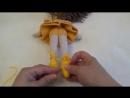 Вяжем пуанты для балерины