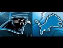 NFL 2017-2018 / Week 05 / 08.10.2017 / Carolina Panthers - Detroit Lions part 1