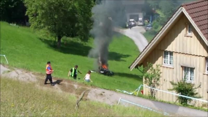 Richard Hammond crash hillclimb Hemberg 2017 _ original video