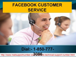 Can I Choose Facebook Customer Service 1-850-777-3086 For Instant Help?