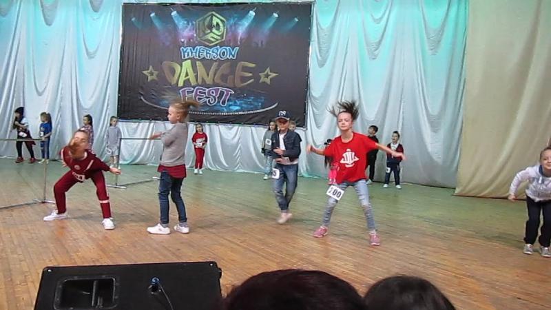 Kherson Dance Fest 10.12.2017г. Hip-Hop Начинающие