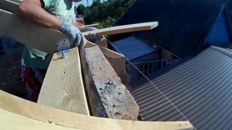 Постройка дома, как правильно сделать крышу, Параизоляцию, обрешётку, отливы. (С
