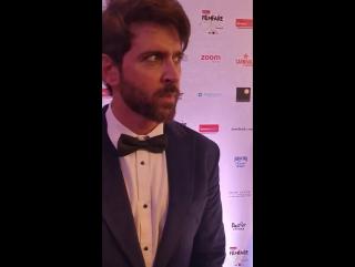 Ритик на Filmfare Glamour & Style Awards