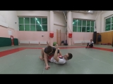 Важно!!!Боевое самбо Обучение Кимура - обратный узел плеча из положения лежа на спине - Смотреть