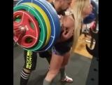 Юлия Шенкаренко - присед 160 кг на 6