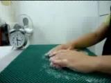 Видеоурок по валянию шариков из шерсти от Оксаны Калининой
