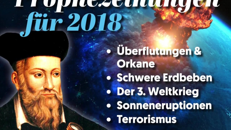 6 erschreckende Vorhersagen von Nostradamus, die sich langsam bewahrheiten
