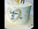 Торт для девочки,поклонницы мульта Балерина