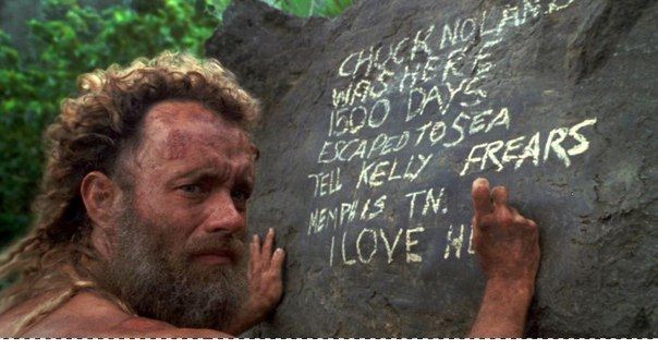 chuck noland cast away speech