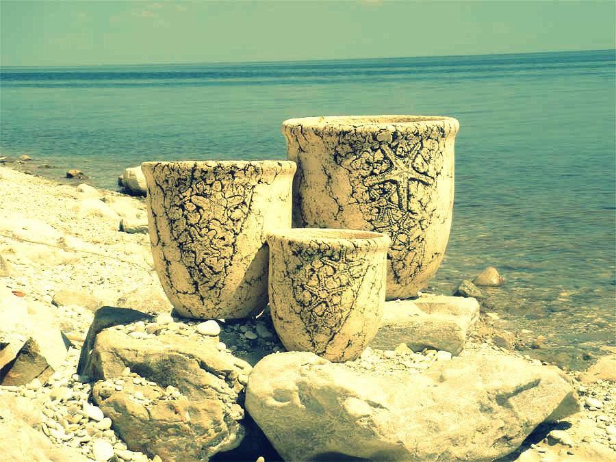 Керамика в селе Золотое
