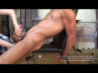 Forced and double orgasm!
