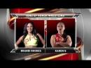 Бренди Роудс против Карен Кью I 1 раунд турнира WOH