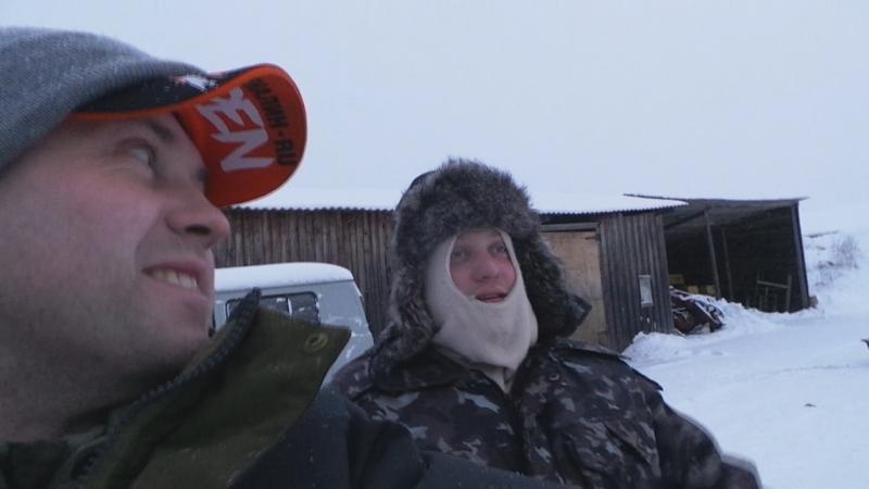 Рыбалка в глухозимье д.Борковское