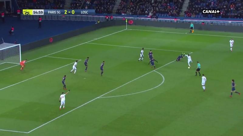 PSG 3-1 Lille. Обзор(Футбол.Чемпионат Франции 9.12.2017)