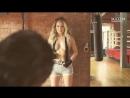 Мария Басс — девушка с майской обложки совместила тренировку с фотосессией! не порно