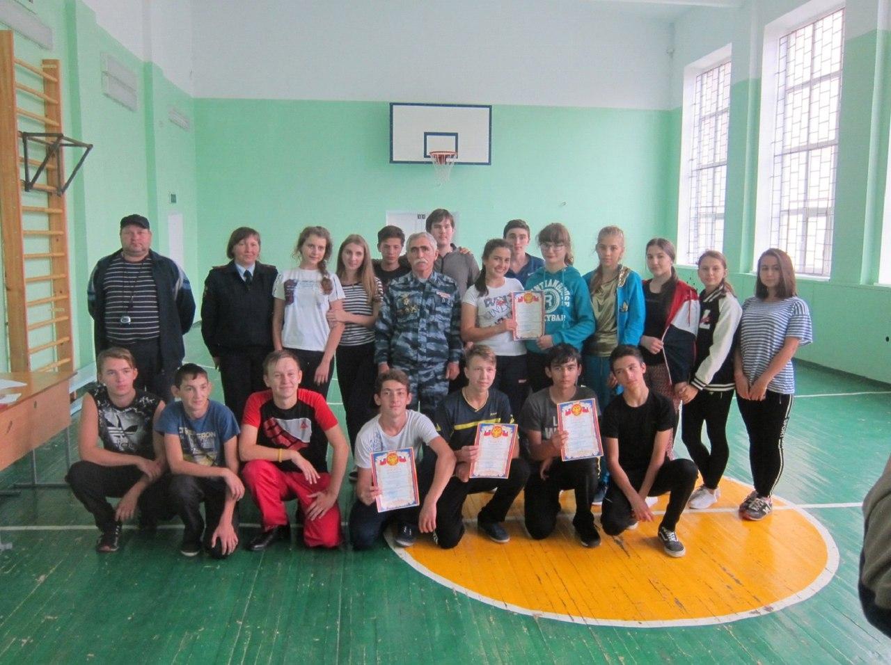 Спортивную подготовку проверили в «Полицейском классе» Зеленчукского района