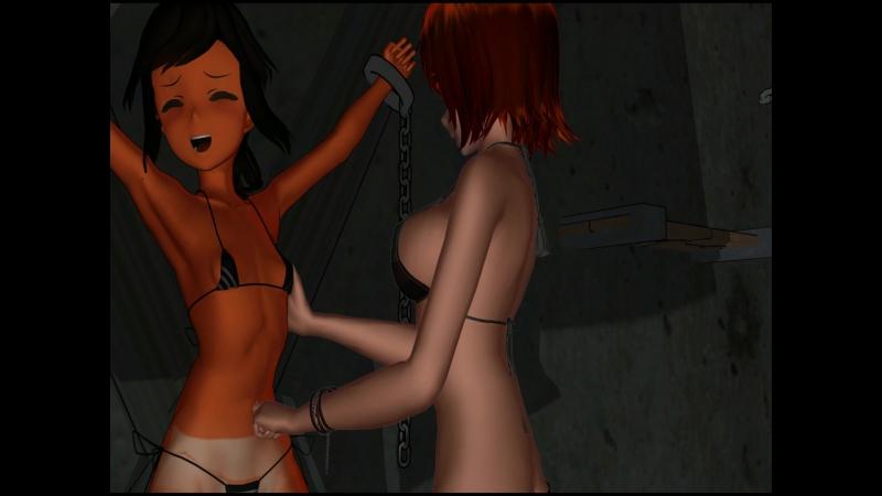 Iona wird gekitzelt