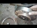 Матрица и пуансон для штамповки отстойника топливных баков.