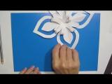 DIY Подарки своими руками Новый 2018 игрушки из бумаги Снежинки Легкие Видео Поделки с детьми!
