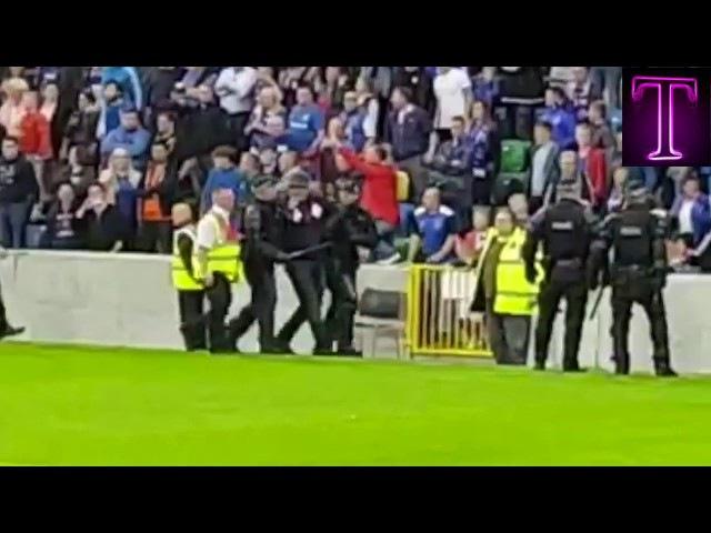 Fans Celtic Vs Linfield 4-0 break time 19/07/2017