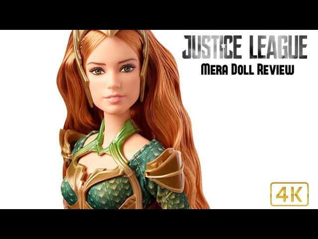ОБЗОР куклы: BARBIE JUSTICE LEAGUE MERA DOLL