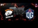 VP vs OG #1 RU (bo2) DreamLeague Season 8 Major Qual 05.10.2017