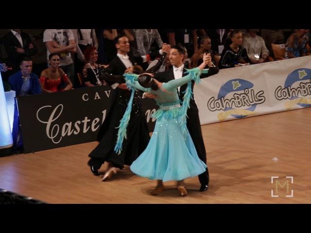 Francesco Galuppo Debora Pacini European Dancesport Clubs Cup 2017 Cambrils Adult STD F SF