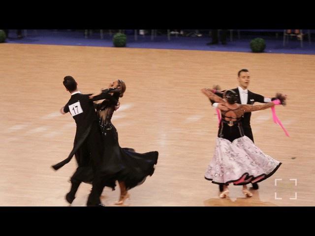 Francesco Galuppo Debora Pacini European Dancesport Clubs Cup 2017 Cambrils Adult STD F Q