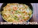 How To Make Creamy Shrimp Alfredo Pasta Natasha's Kitchen