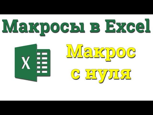 УРОК 4. Макросы. Пишем код полностью с нуля. Академия Excel ehjr 4. vfrhjcs. gbitv rjl gjkyjcnm. c yekz. frfltvbz excel