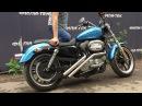 Выхлоп на мотоцикл Harley-Davidson. Изготовление приемных труб