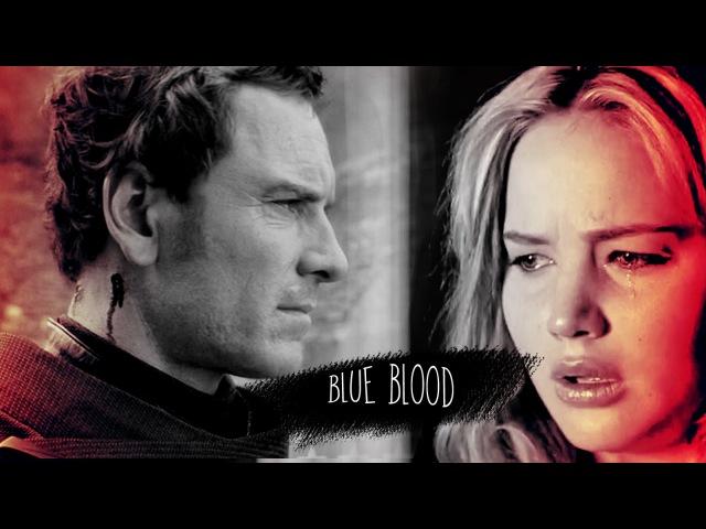 ► Raven Darkhölme and Erik Lehnsherr    Blue Blood [MAOC]