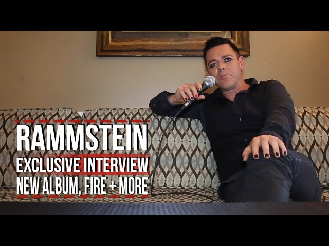 Rammstein's Richard Kruspe on New Album, Fire, Musical Orgasms More