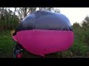 Самодельный воздушный шар из плёнки и скотча