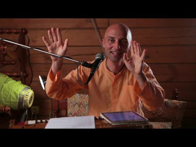 Объяснение бхаджана бхаджахуре мана 1 октября 2017 Москва Ватсала дас