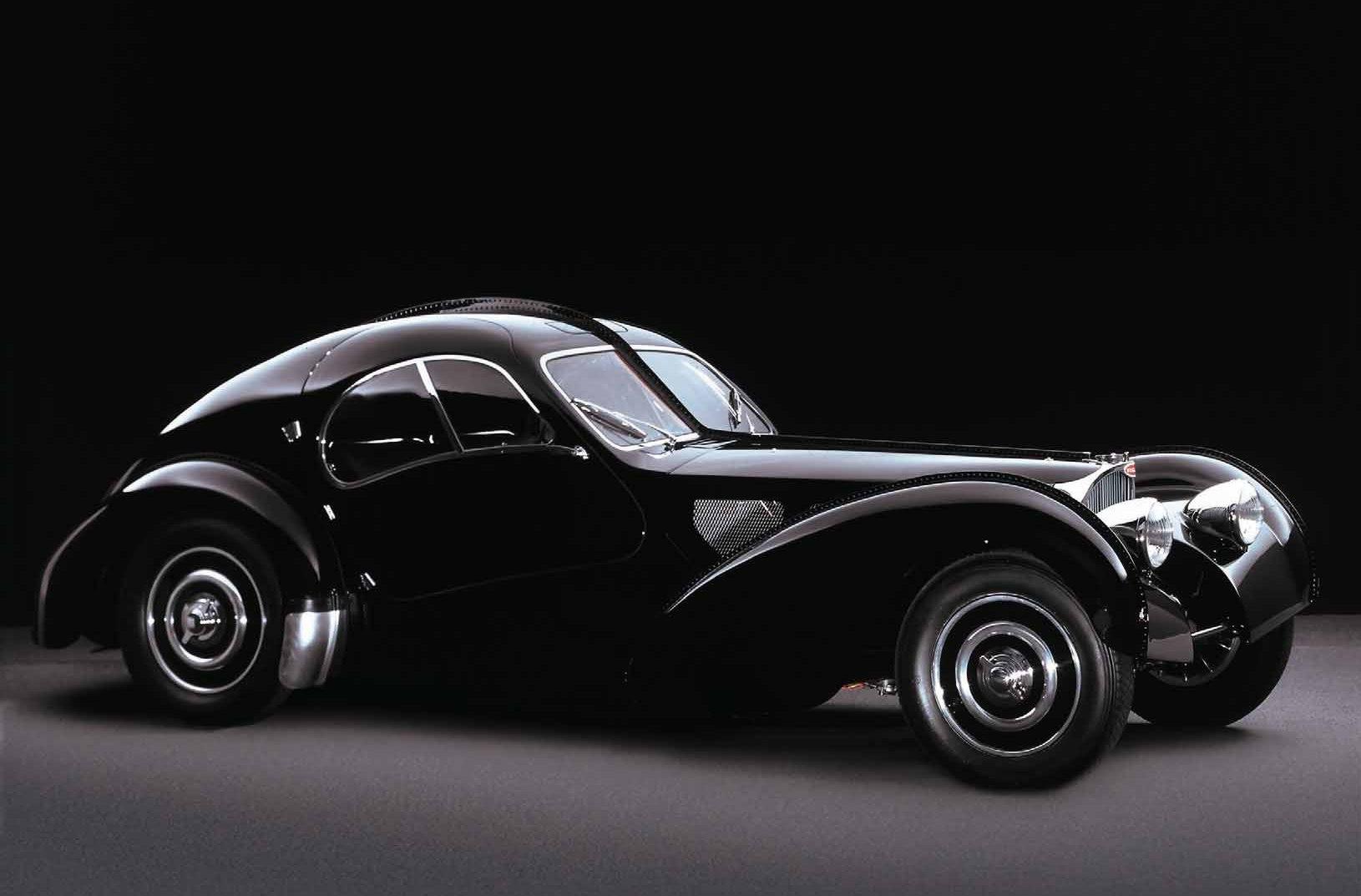 Мечта любого автовладельца - Bugatti 57 SC Atlantic