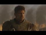 Игра престолов 7 сезон 4 серия - Джейме Ланнистер пытается убить Дейенерис Таргариен