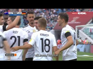 Australia 1:3 Germany | Гopeтцкa