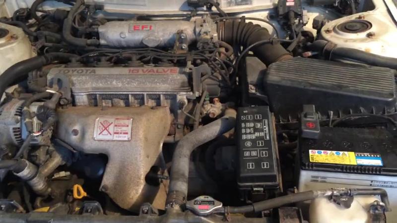Работа двигателя 4S-FE (TOYOTA CAMRY SV30)