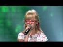 """Малышка класно поет песню """"Unconditionally"""" на шоу Голос Дети 2018"""
