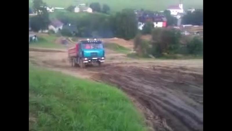 Tatra 815 S3 Татра zemní prace a autodoprava смотреть онлайн без регистрации
