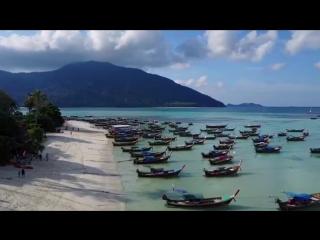 #Таиланд_АВРТур Koh Lipe - Maldives of Thailand drone video (GoPro Hero5 + Mavic Pro)