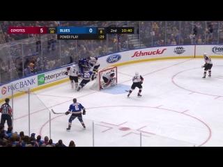 Сент-Луис Блюз 2 : 5 Аризона Койотс. Обзор(Хоккей.НХЛ )