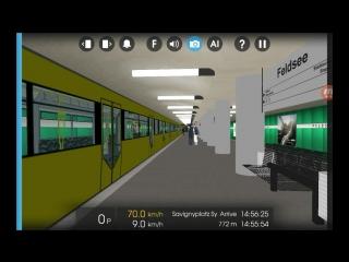 Hmmsim 2 Berlin U-Bahn U1 U2 Class H ALPHA VERSION