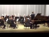 Моцарт Концерт №23- исп. Короваевич Александр и Брянский симфонический оркестр, дирижер Эдуард Амбарцумян